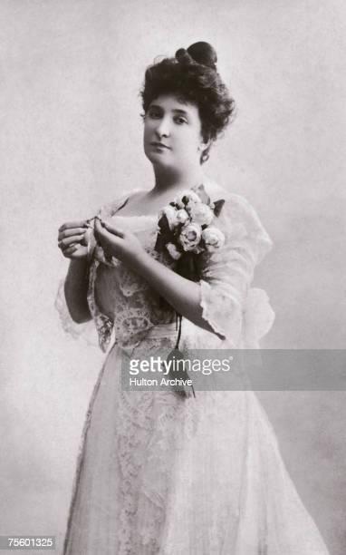 Australian Soprano Dame Nellie Melba circa 1895