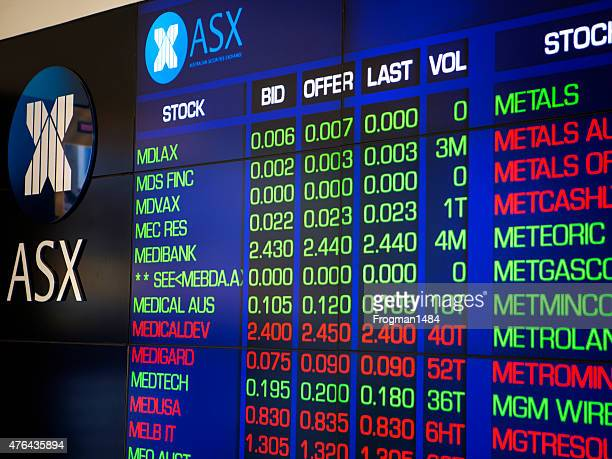 australian stock market - stock certificate stock pictures, royalty-free photos & images