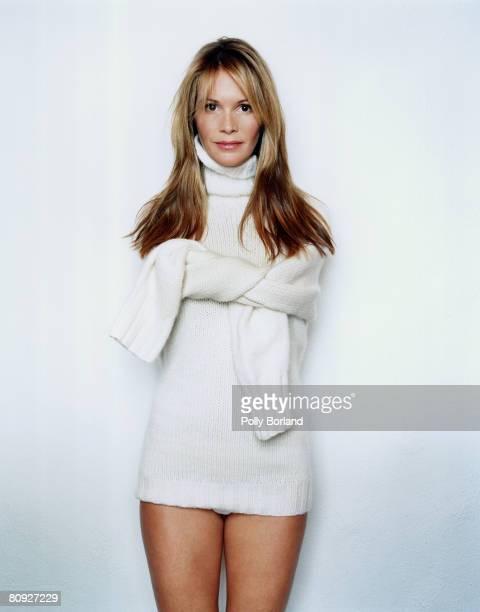 Australian supermodel and businesswoman Elle Macpherson 1st October 2000