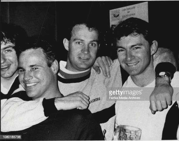 Australian Survivors of Air crash in Peru Matthew Lumsdaine and Anthony Stubley November 9 1988