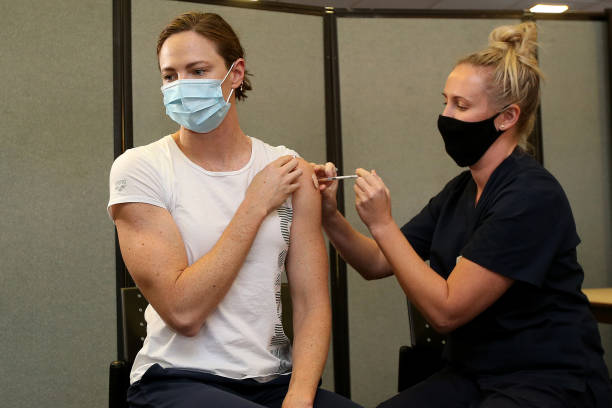 AUS: AOC Begin Vaccination Rollout For Australian Olympic Athletes Ahead of Tokyo Olympic Games