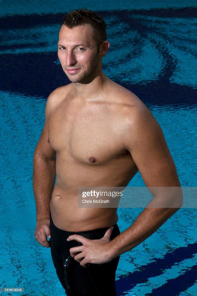Ian Thorpe Portrait Session