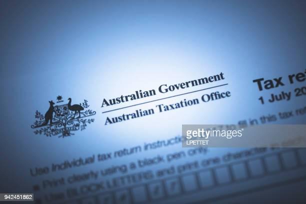 オーストラリア税フォーム