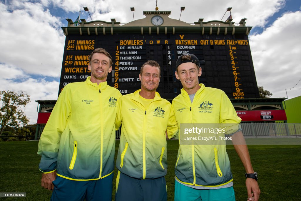 Official Draw: Davis Cup - Australia v Bosnia and Herzegovina : News Photo