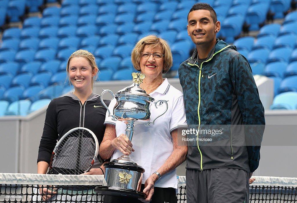 Australian Open 2015 Launch : News Photo