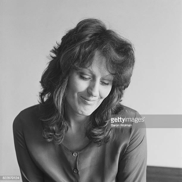 Australian theorist academic and journalist Germaine Greer is best know for her 1970 book 'The Female Eunuch' She is photographed for Esquire...