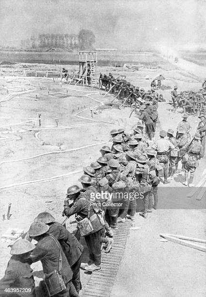 Australian troops the day before of the Battle of Messines Belgium 6 June 1917 The Battle of Messines was launched on June 7 1917 by British General...