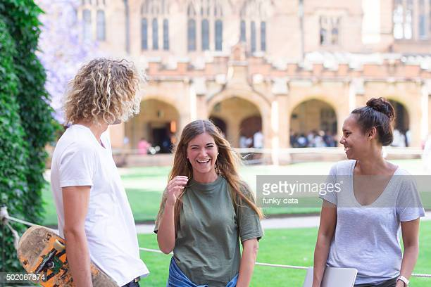 australian university students - university of sydney stock pictures, royalty-free photos & images