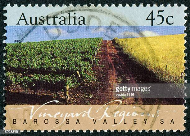 Australian Vineyard Stamp