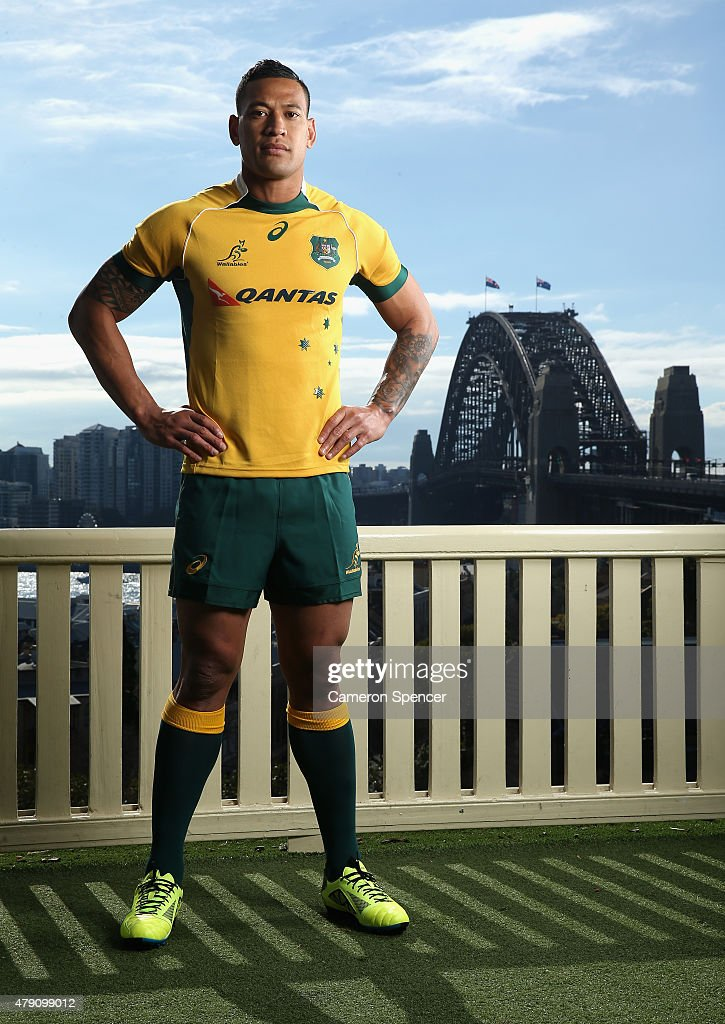 Israel Folau Portrait Session