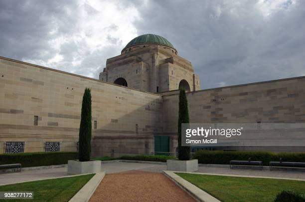 australian war memorial, canberra, australian capital territory, australia - war memorial stock pictures, royalty-free photos & images