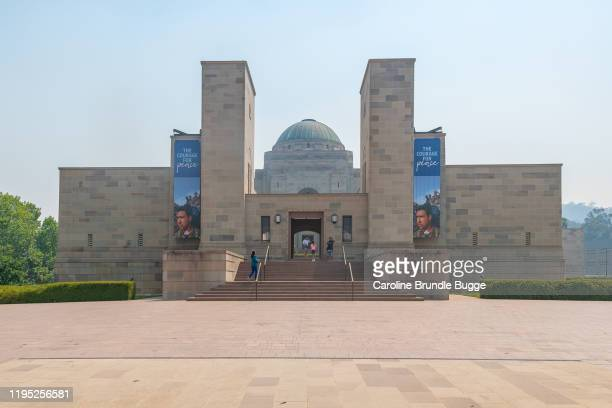 australian war memorial, canberra, new south wales, austarlia - anzac soldier stock pictures, royalty-free photos & images