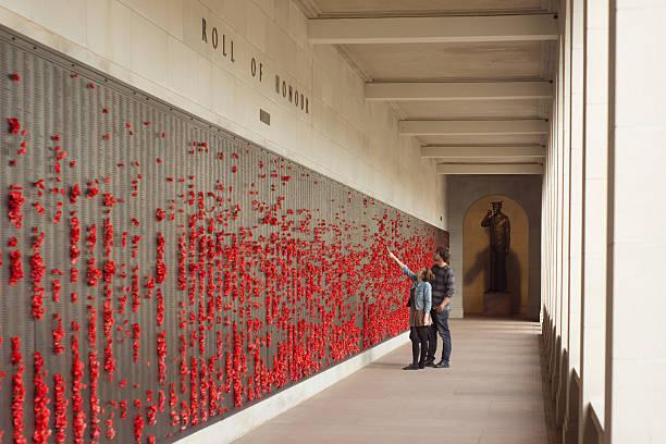 Australian War Memorial - Wall of Remembrance