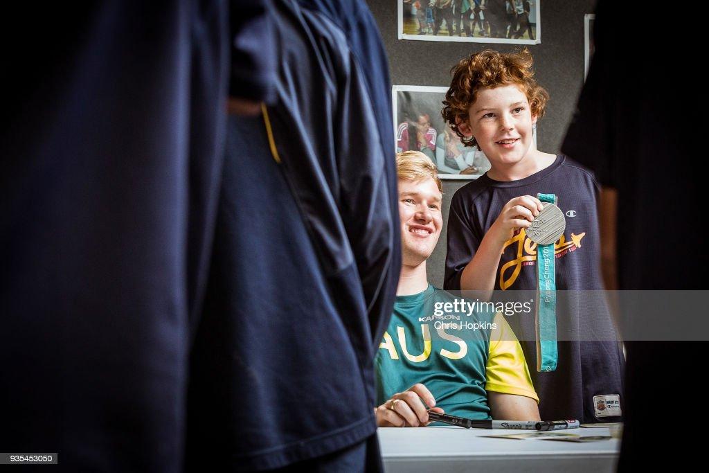 Australian Winter Olympic Athletes Visit Melbourne Schools