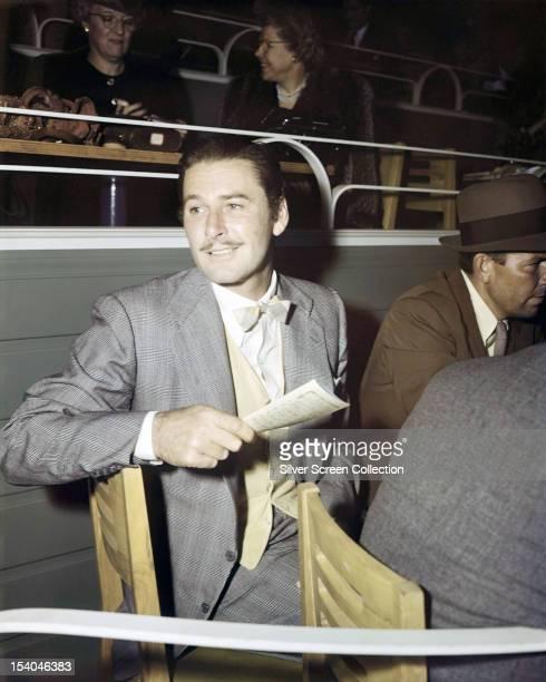 Australianborn American actor Errol Flynn circa 1950