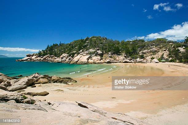 AUSTRALIA-Queensland-NORTH COAST-Magnetic Island: View of Alma Bay