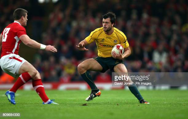 Australia's Adam Ashley Cooper in action during the International match at the Millennium Stadium Cardiff