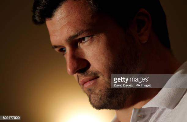 Australia's Adam AshleyCooper during a press conference at the team hotel in Auckland New Zealand
