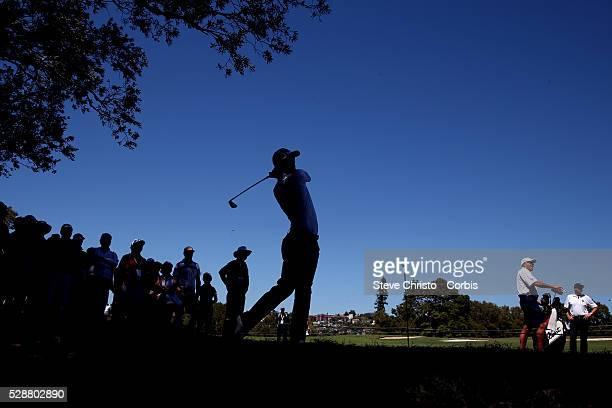 Australia's Adam Scott in the rough on the 16th fairway at the Royal Australian Golf Club. Sydney, Australia, Wednesday 27th November 2013.