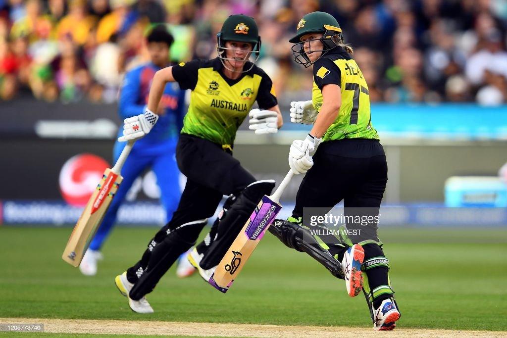 CRICKET-T20-WC-2020-WOMEN-AUS-IND : News Photo