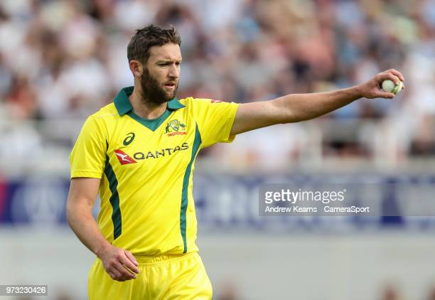 Australia's Andrew Tye during the Royal London 1st ODI match between England and Australia at The Kia Oval on June 13 2018 in London England