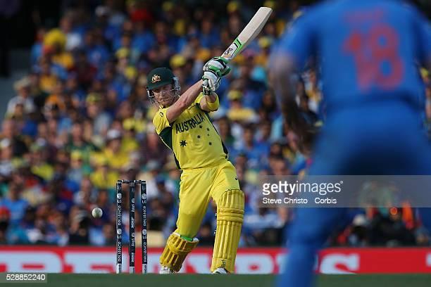 Australia's Brad Haddin batting against India at the Sydney Cricket Ground Australia Thursday 26th March 2015