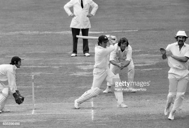 Australia's captain Ian Chappell batting during his innings of 86 on the final day of the 2nd Test match between England and Australia at Lord's...