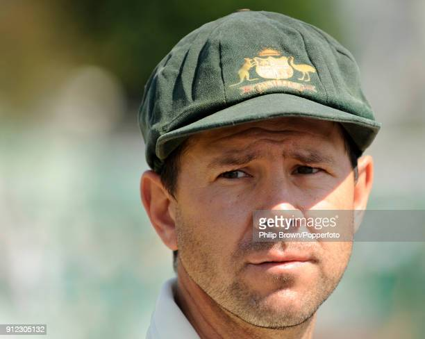 Australia's captain Ricky Ponting waits for the coin toss before the tour match between Sussex and the Australians at Hove East Sussex 24th June 2009