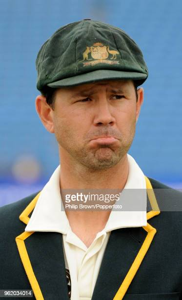 Australia's captain Ricky Ponting waits for the toss before the 2nd Test match between Australia and Pakistan at Headingley Leeds 21st July 2010