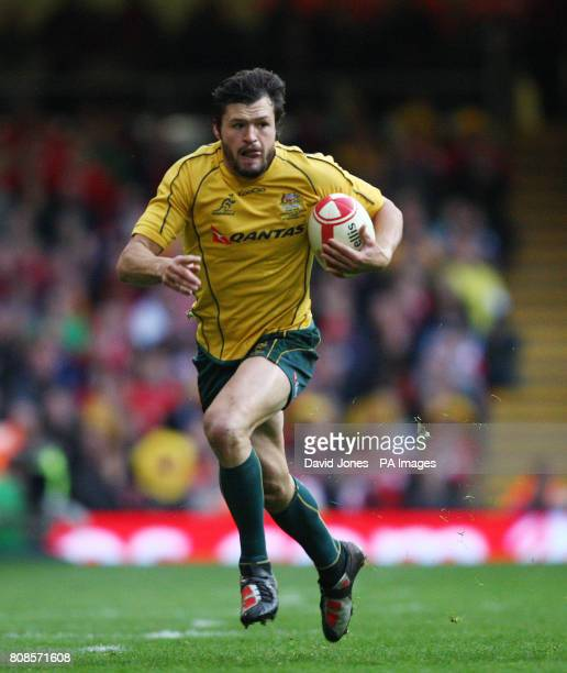 Australia's centre Adam AshleyCooper during the International match at the Millennium Stadium Cardiff