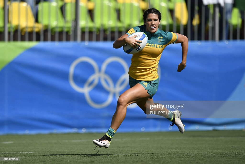 RUGBY7-OLY-2016-RIO-AUS-COL : News Photo