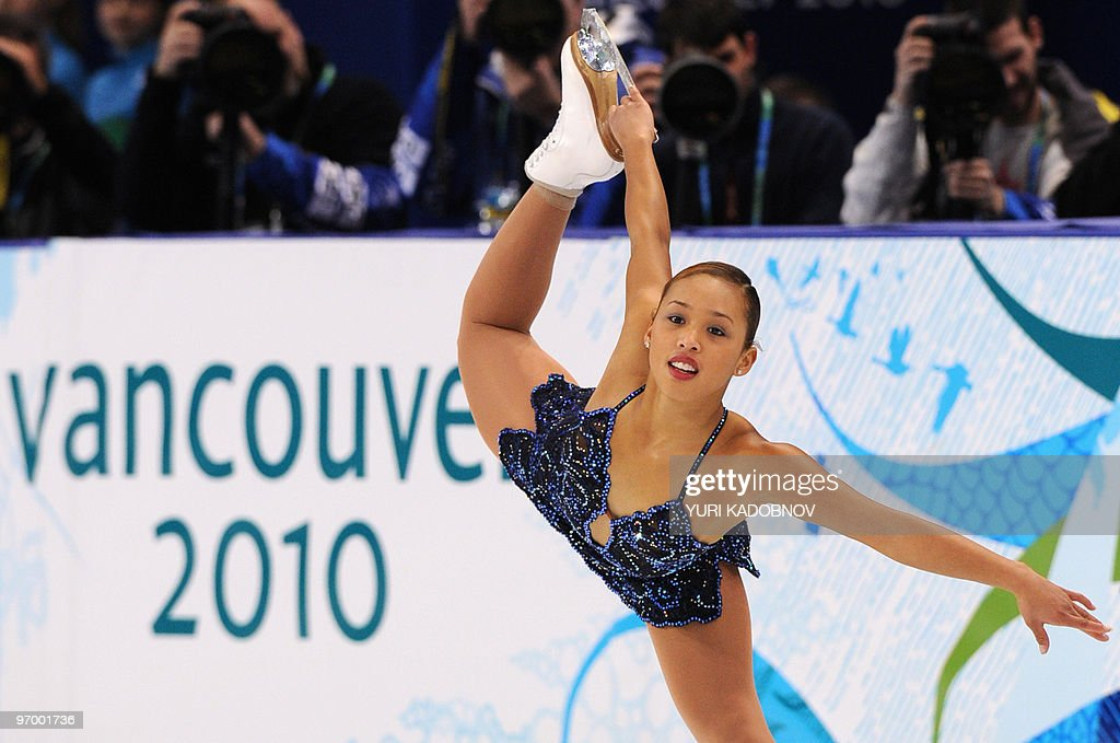 Australia's Cheltzie Lee performs in the Ladies' Figure Skating Short Program in Vancouver, during the 2010 Winter Olympics on February 23, 2010.