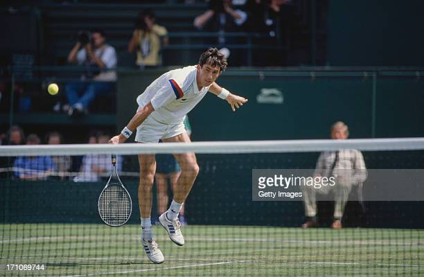 Australia's Darren Cahill during the 1988 Wimbledon Championships in London