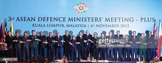 Australia's Defense Minister Marise Payne Brunei's Defense Minister Mohammad Yasmin Umar Cambodia's Defense Minister Gen Tea Banh China's Defense...