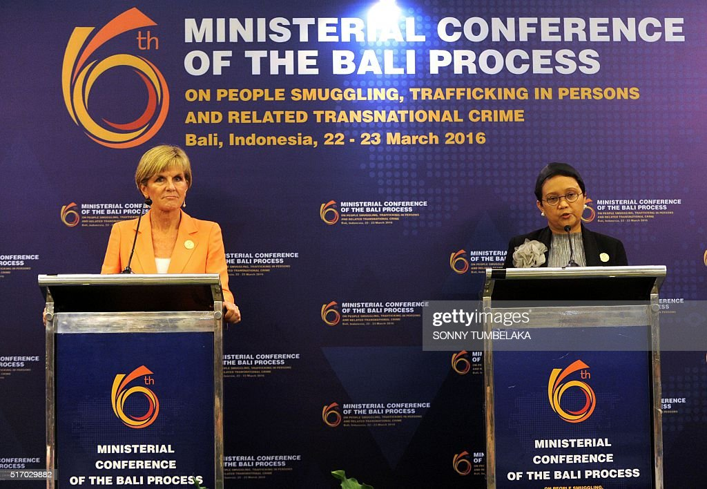 INDONESIA-IMMIGRATION-TRAFFICKING : News Photo
