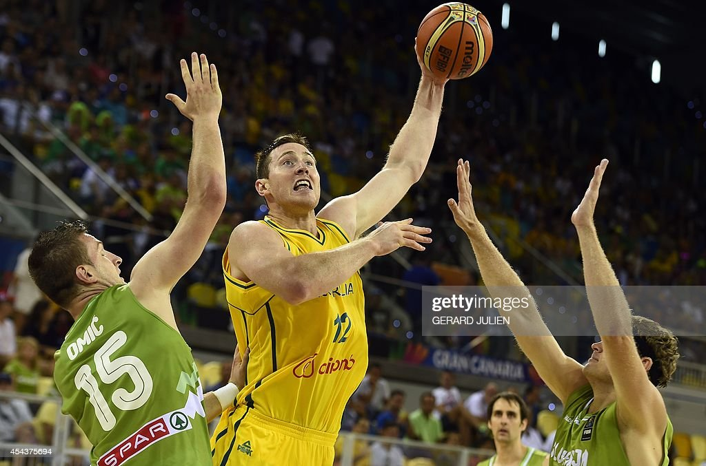 BASKET-WC-2014-AUS-SLO : News Photo