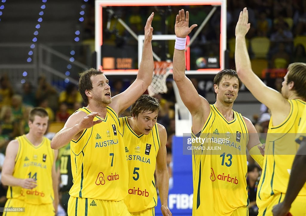 BASKET-WC-2014-AUS-LTU : News Photo