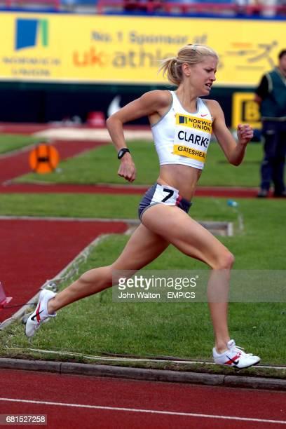Australia's Georgie Clarke in action during the Women's 1500m