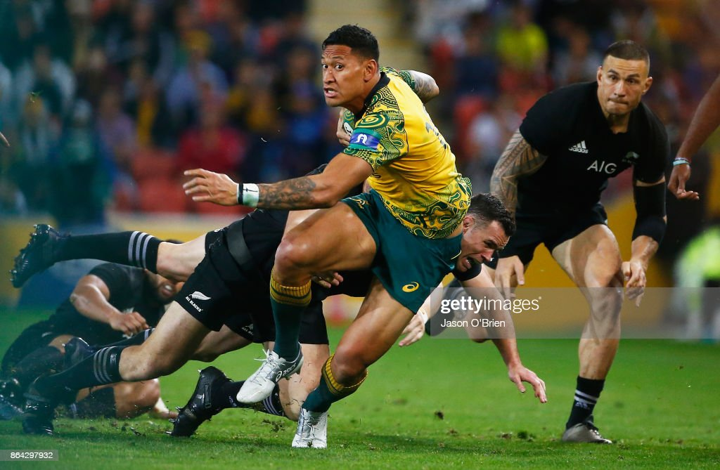 Australia v New Zealand : News Photo