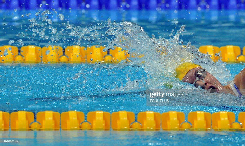 OLY-2012-PARALYMPICS-SWIM : News Photo