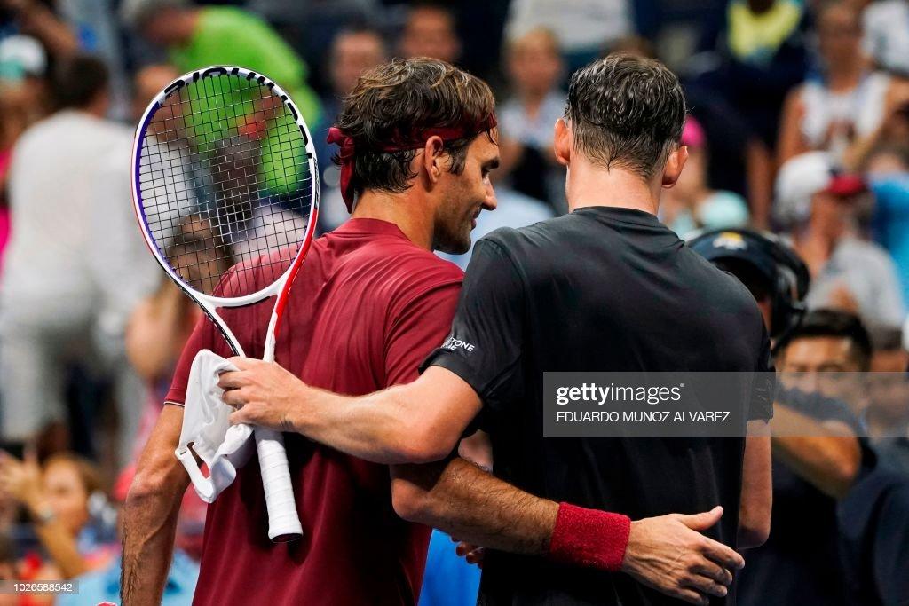 TOPSHOT-TENNIS-US-OPEN : News Photo