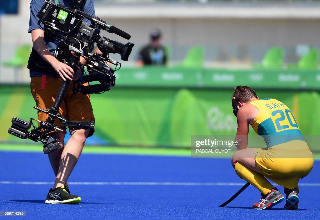 HOCKEY-OLY-2016-RIO-NZL-AUS : News Photo