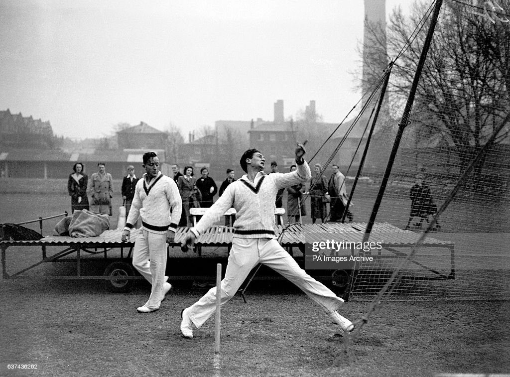 Cricket - The Ashes 1948 - Australia Nets - Lord's : News Photo
