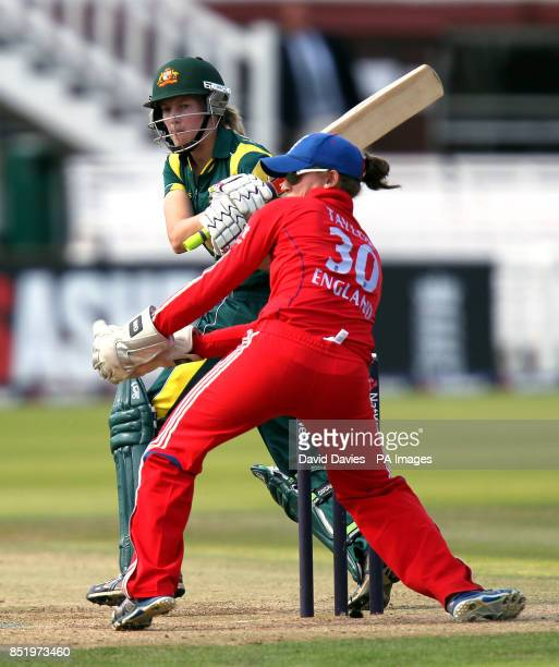 Australia's Meg Lanning battting during the first Ashes One Day International at Lords' London