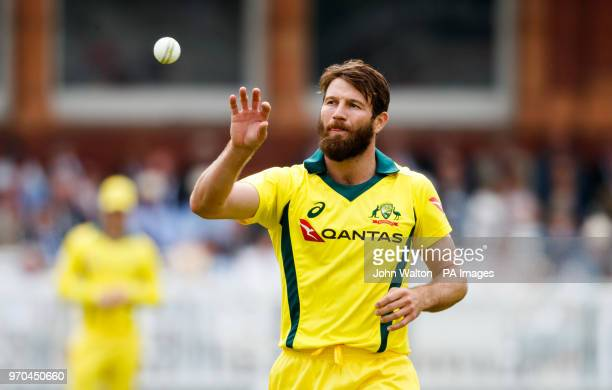 Australia's Michael Neser during the international friendly match at Lord's London