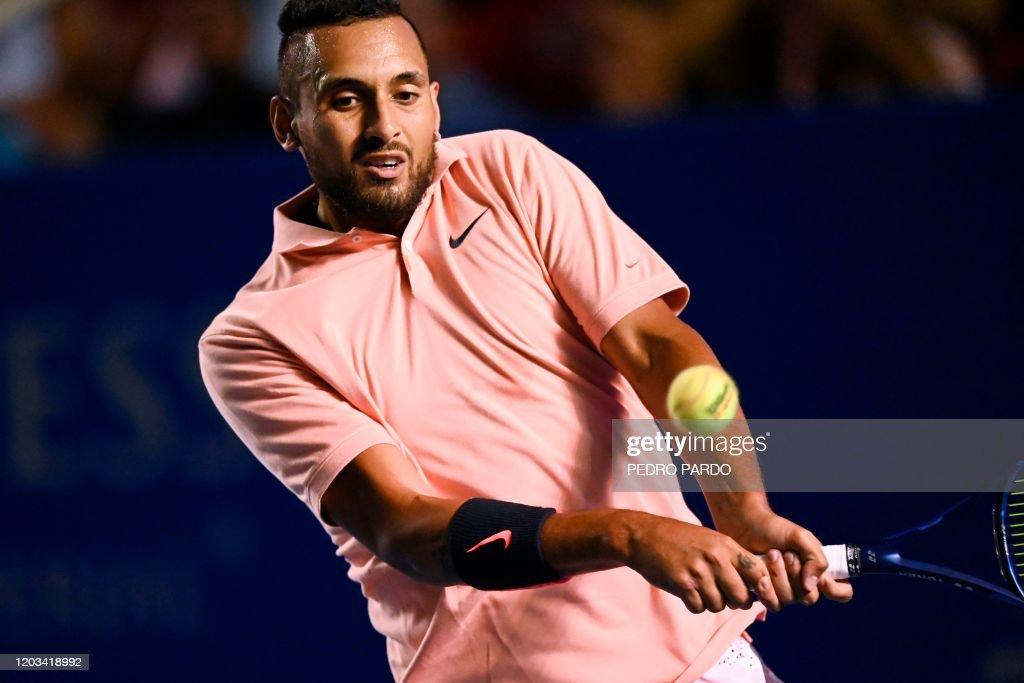 TENNIS-MEX-ATP-2020 : News Photo