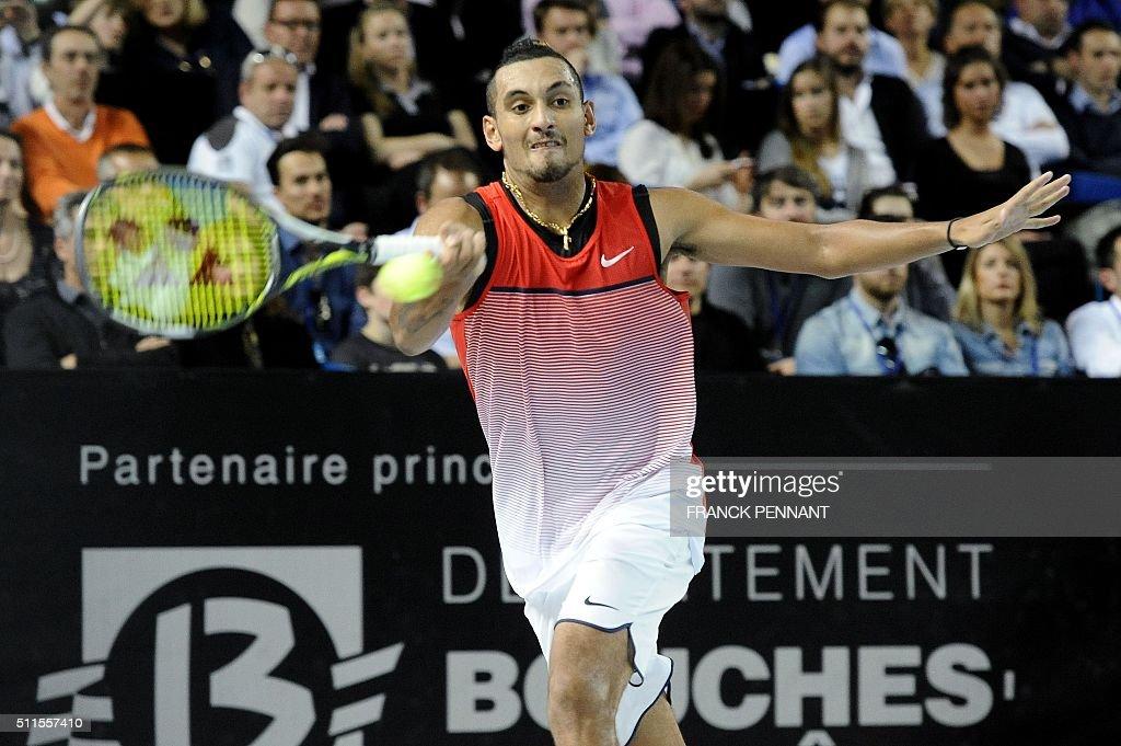 TENNIS-ATP-OPEN13-FRA : News Photo