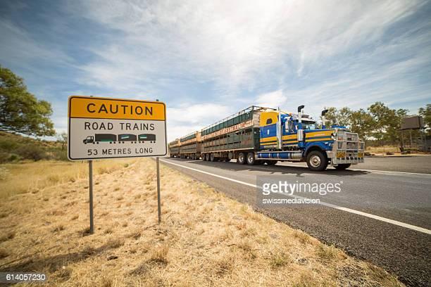 Australia's outback Road Trains