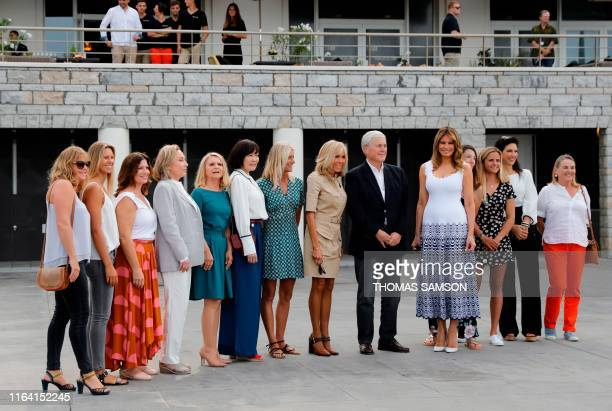 Australia's Prime Minister's wife Jenny Morrison Chile's President's wife Cecilia Morel European Council President's wife Malgorzata Tusk Japan's...