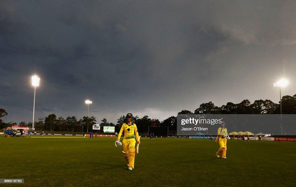 Australia v England - 2nd Women's ODI